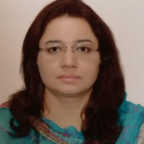 Dr Saima Ali Ahmad
