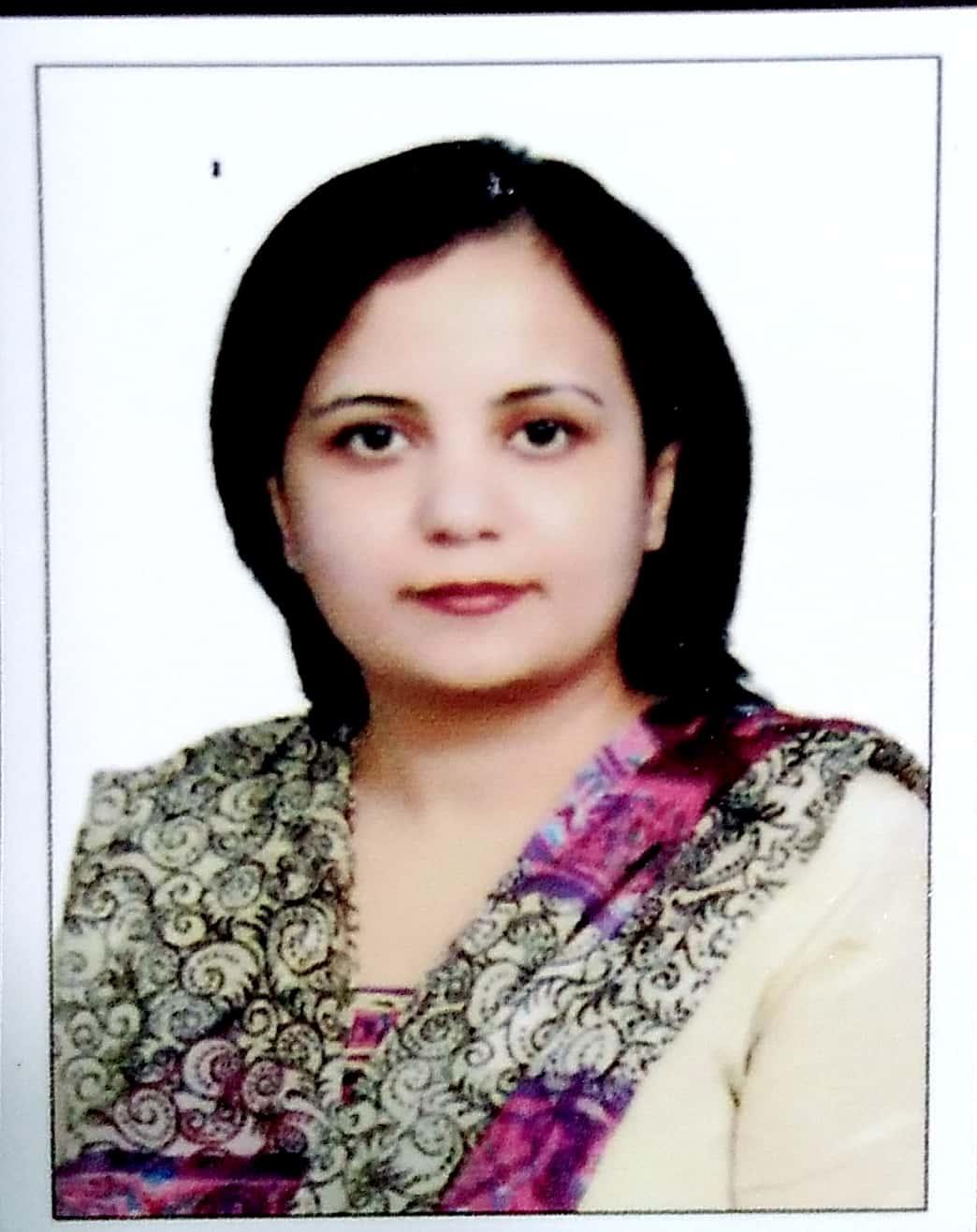 Dr. Zahra Mahmood